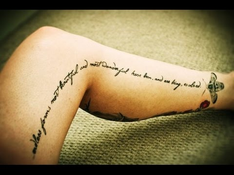 Quotes About Tattoos Youtube