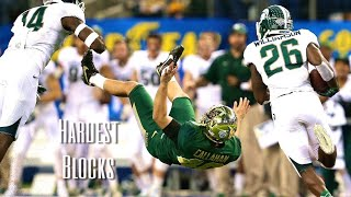 Hardest Blocks In College Football History