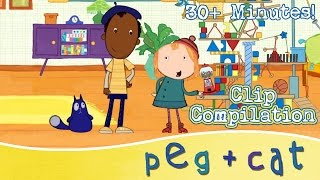 Peg + Cat – Learning Math for Kids (30+ Minutes)