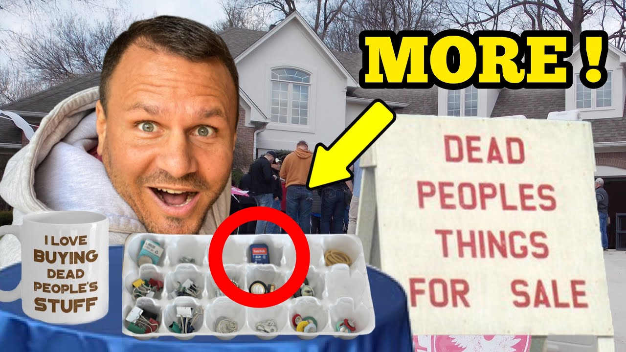 MORE DEAD PEOPLES Things For Sale ... Bought Jewelry Hoarders Stash