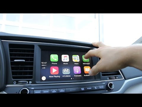 Apple Carplay in the All New 2017 Hyundai Elantra