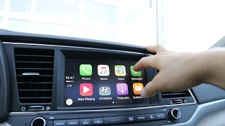 Apple Carplay in the All New 2017 Hyundai Elantra смотреть