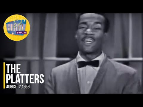 "The Platters ""Darktown Strutters' Ball"" on The Ed Sullivan Show"