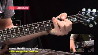 How To Play Hells Kitchen By Dream Theater | Guitar Lesson Sample by Jamie Humphries Licklibrary