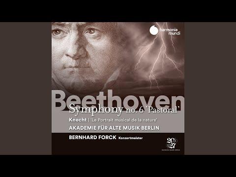 Le Portrait Musical De La Nature Ou Grande Simphonie In G Major: II. Allegretto. Tempo Medemo