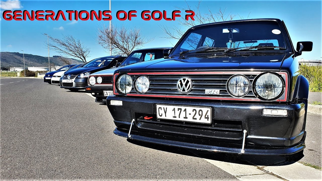 The Golf R, From MK1 to MK7 5 and in between!!! – Fairview Golf