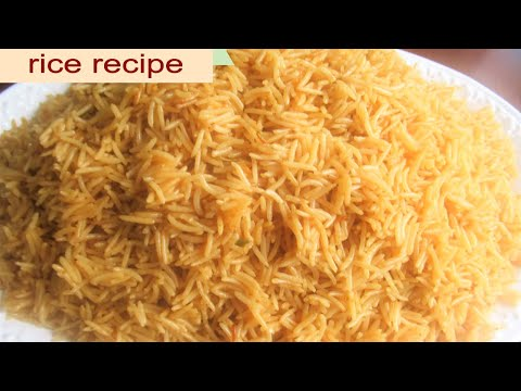 Rice Recipe ( Afghani Plain And Simple  Rice Recipe ) Chalaw Afghani,Afghan Cuisine پلو افغانی چلو