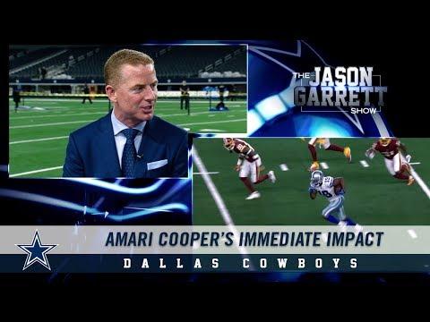 Jason Garrett on WR Amari Cooper's Immediate Impact with the Dallas Cowboys | Dallas Cowboys 2018
