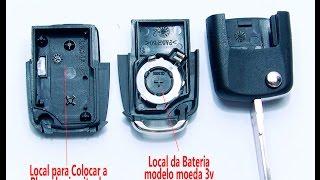 Como trocar a Chave Volkswagen Placa de Alarme Chip cod e Lamina