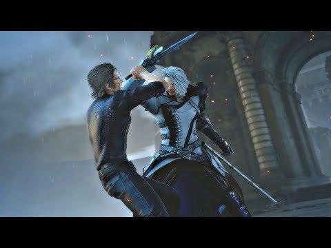 Final Fantasy XV Episode Ignis DLC - Ravus Boss Fight & Very Sad Cutscene