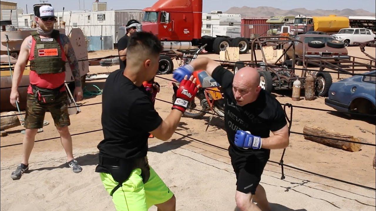 USA NAVY vs STREET FIGHTER !! Crazy Fast fight !!!