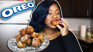 HOW TO MAKE FRIED OREOS!!! THE EASIEST WAY!