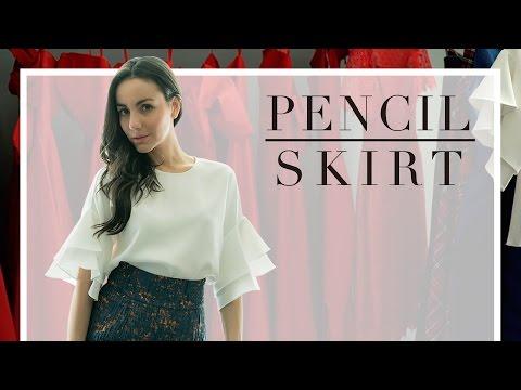 ¿Cómo usar una falda estilo lápiz?- Tips de Moda- #lookbook