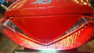 ZX14R ブラスターテールライト LED これは目立つ❗ 光り方色々 光量も楽にバツグン thumbnail