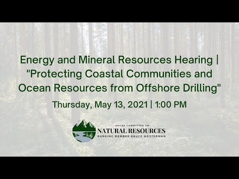 Energy and Mineral Resources Hearing |