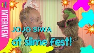 JoJo Siwa | AT SLIME FEST! | Q&A