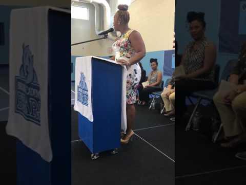 Principal Weston's Speech @ 8th Grade Moving Up Ceremony Bruns Academy 6/9/2017