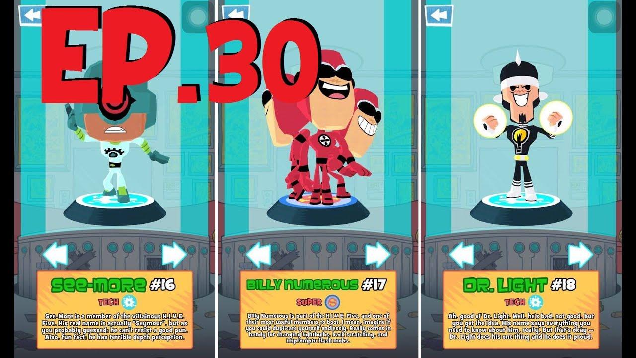 Teeny Titans - A Teen Titans Go - Figure 16,17,18 - See -1039