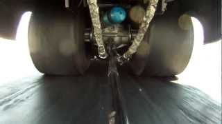 Funny Car Tire Shake GoPro Footage