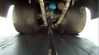 funnycar tire shake