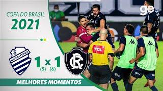 CSA 1 (5) X (6) 1 REMO | 최고의 순간 | 2 차 코파 DO BRASIL PHASE | ge.globo
