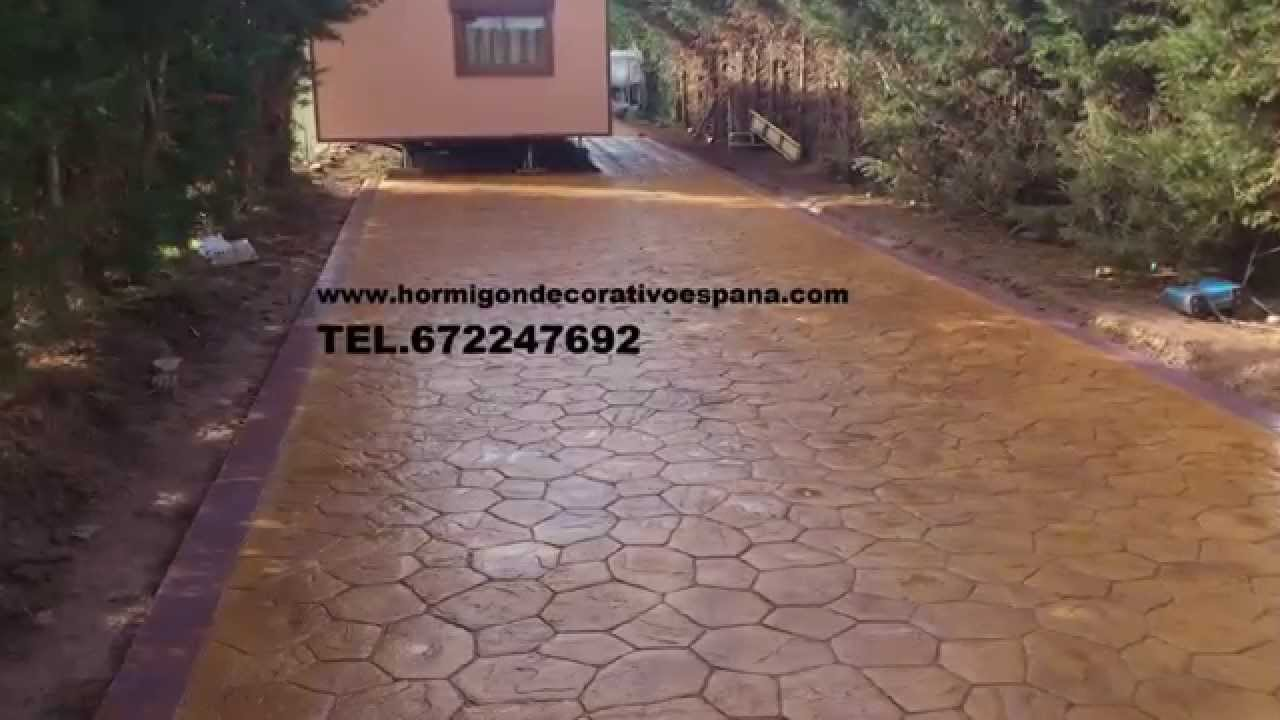 Hormigon impreso cordoba 672247692 cordoba youtube for Hormigon impreso youtube