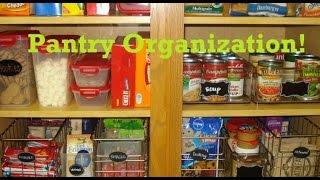 Pantry Cabinet Organization