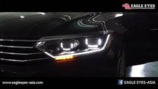 Ambient Plus Interior Lighting In Vw Passat B8 My2017 How