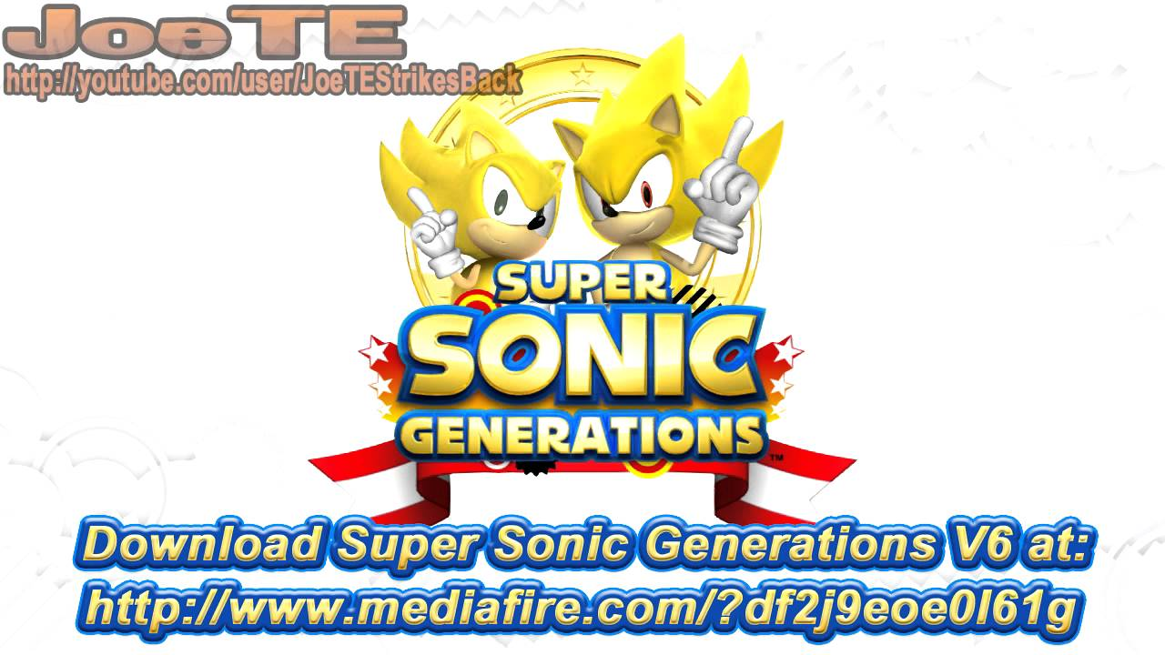 Sonic generations to get physical pc release in europe – the sonic.