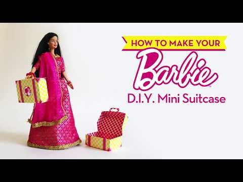 How to make your Barbie D.I.Y. Mini Suitcase Box