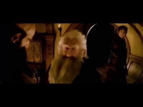 Hobbit Bilbo Baggins meet the Dwarves