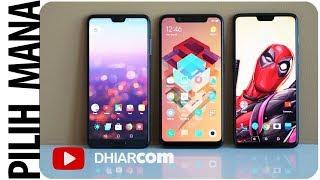Kamera Bagus Mana? Huawei P20 Pro, Xiaomi Mi 8 atau Oneplus 6?