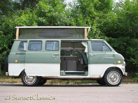 1973 Ford Econoline E200 Supervan Turtle Top Camper For Sale Youtube