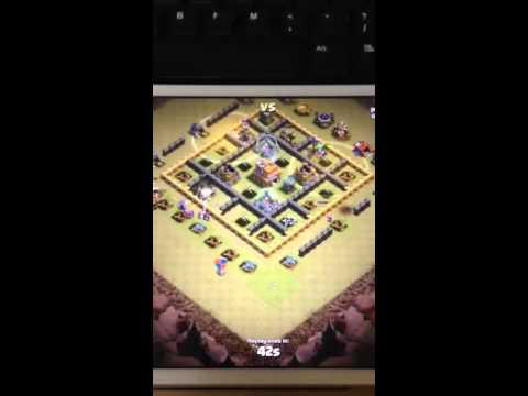 Clash Of Clan - Kill Off Clan Castle Troops Without Lightning Spell