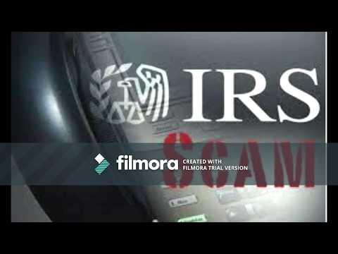 IRS SCAM 2018