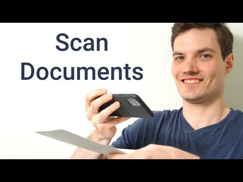 How To Scan A Document To Your Phone