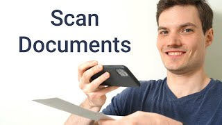 How to Scan a Document to your Phone screenshot 1
