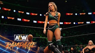 Anna Jay \u0026 The Bunny Take Their Rivalry to the Next Level. What Happened? | AEW Rampage, 9/17/21