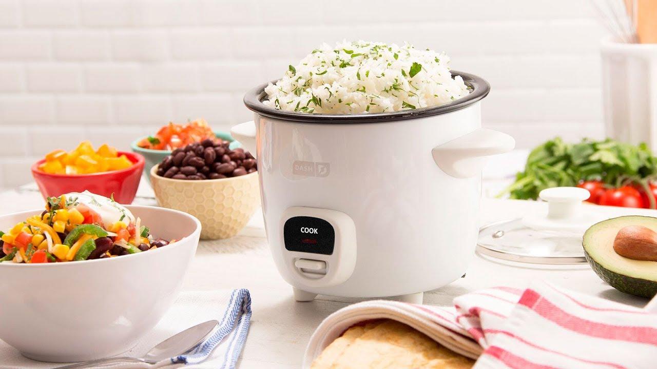 Dash Mini Rice Cooker - YouTube