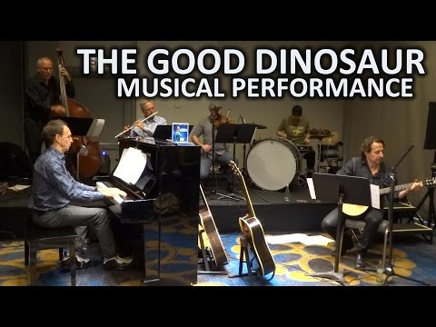 """The Good Dinosaur"" musical performance by Mychael and Jeff Danna in Beverly Hills"