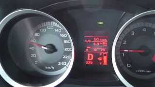 Mitsubishi Lancer 2,0 150 hp var) 2007  consumption
