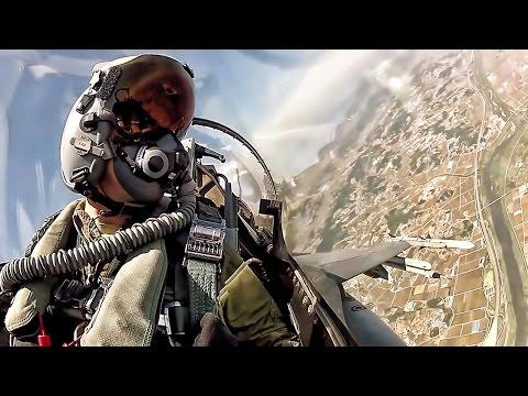 Fighter Jet Cockpit • F16 Takeoff To Landing