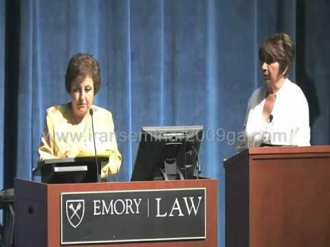 Shirin Ebadi, Seminar on Iran's 2009 Election