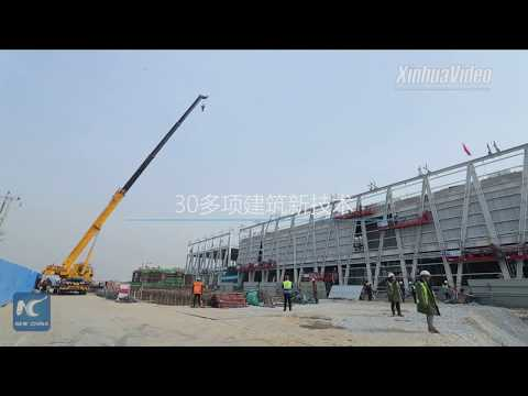Green, high-tech, efficiency highlighted in building Xiongan