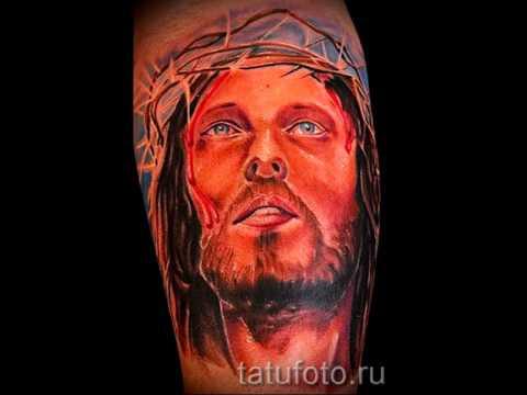 иисус фото тату