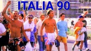 ENGLAND FANS IN ITALY 1990 & SARDINIA AT ITALIA 90 WORLD CUP