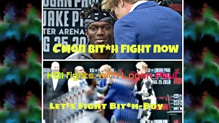 KSI fights with Logan Paul on Press Conference | #KSIvsLoganPaul | Fights in Pubilc | Logan paul