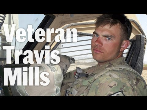 Veteran Travis Mills is Giving Back After Losing His Limbs in Afghanistan - Father of the Year