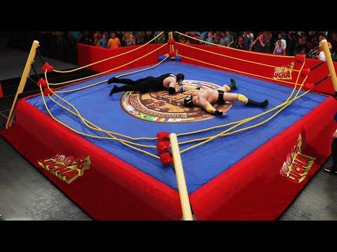 La Masa y Gorutta ROMPEN el RING de 100%LUCHA!!! | Gorutta Jones vs La Masa WWE2K18