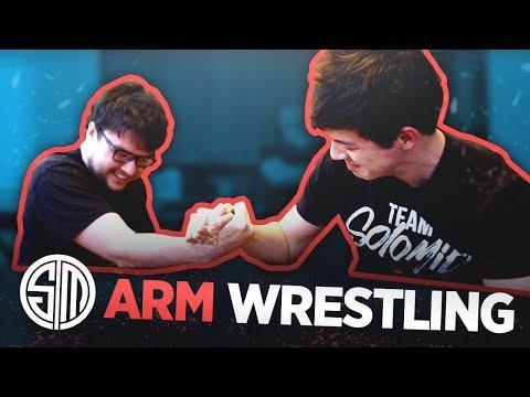 TSM Arm Wrestling!